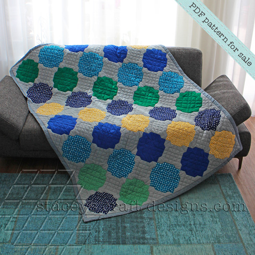 Alhambra Throw Quilt