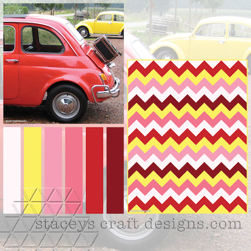 Colour Palette Fiat 500