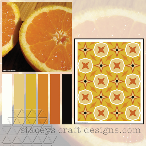 Colour Palette Orange