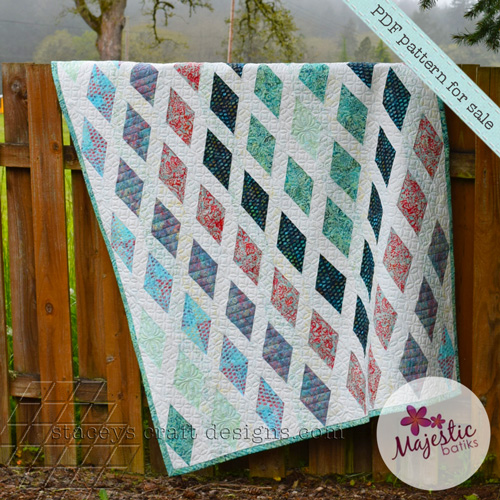 Diamond Sea Quilt Majestic Batiks Special