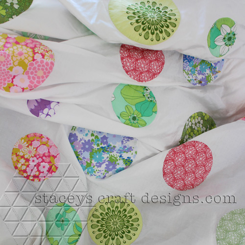 Little preview of my handmade dots quilt