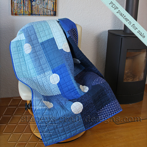 Dotted Rectangles Quilt PDF pattern by Staceys Craft Designs [1]