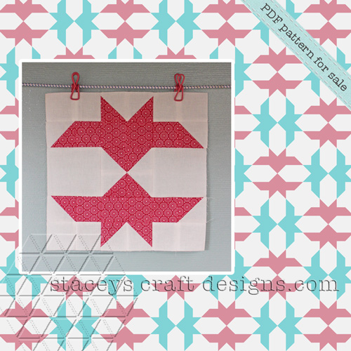 Flying Arrows Quilt Block
