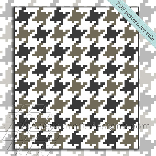 Pixelated-Houndstooth-block