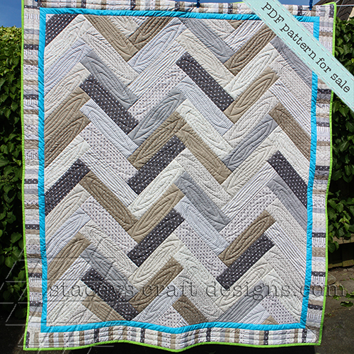 Parquet Quilt PDF pattern by Staceys Craft Designs 1