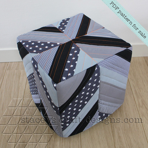 Pouf Cover PDF pattern by Staceys Craft Designs [2]