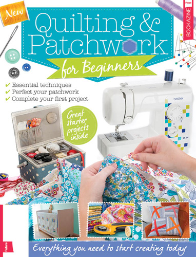 Out now: five of my projects inQuilting & Patchwork (for beginners)bookazine