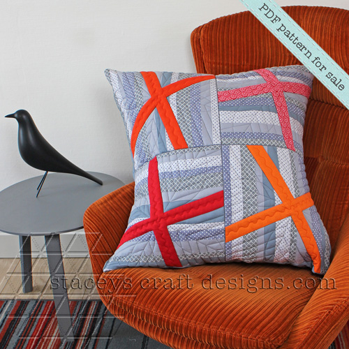 Topsy-Turvy X Cushion Cover