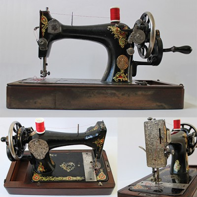 Look at what I got, a vintage Singer sewing machine