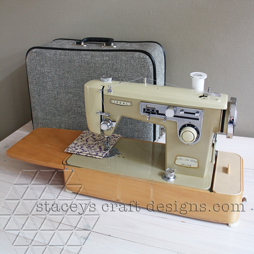 A retro sewing machine to add to my collection