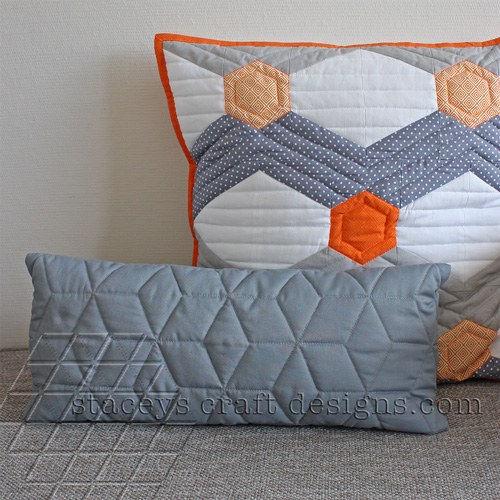 slim grey cushion by Staceys Craft Designs [2]